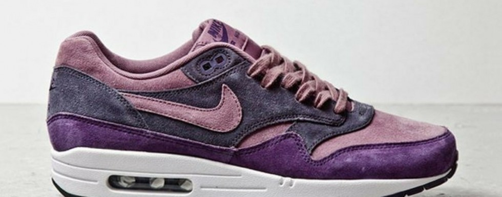 "Nike Air Max 1 ""Purple Suede"""