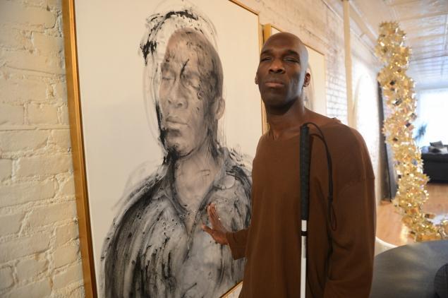 Braille Art For The Blind Sofraiche - Blind artist